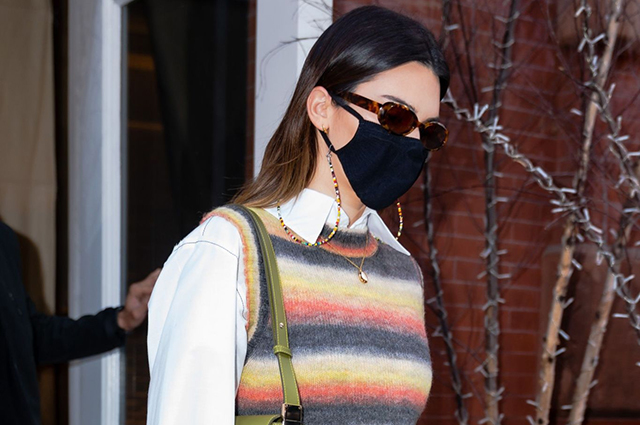 Стиль преппи и платье-жакет: два новых образа Кендалл Дженнер в Нью-Йорке Звездный стиль