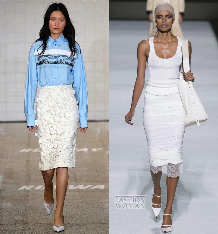 Модные юбки весна-лето 2019 фото №7