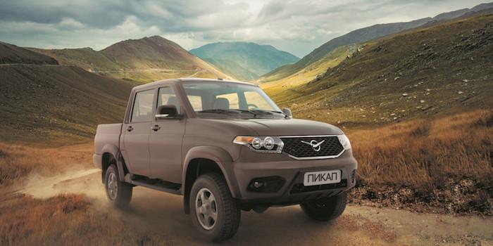 «УАЗ» начал поставки своих автомобилей в Европу