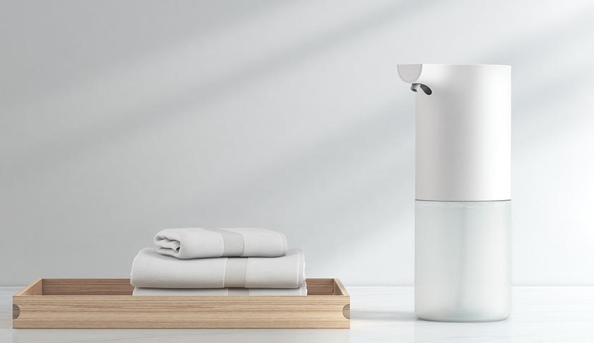 Автоматический дозатор мыла Xiaomi взбивает пену и стоит недорого