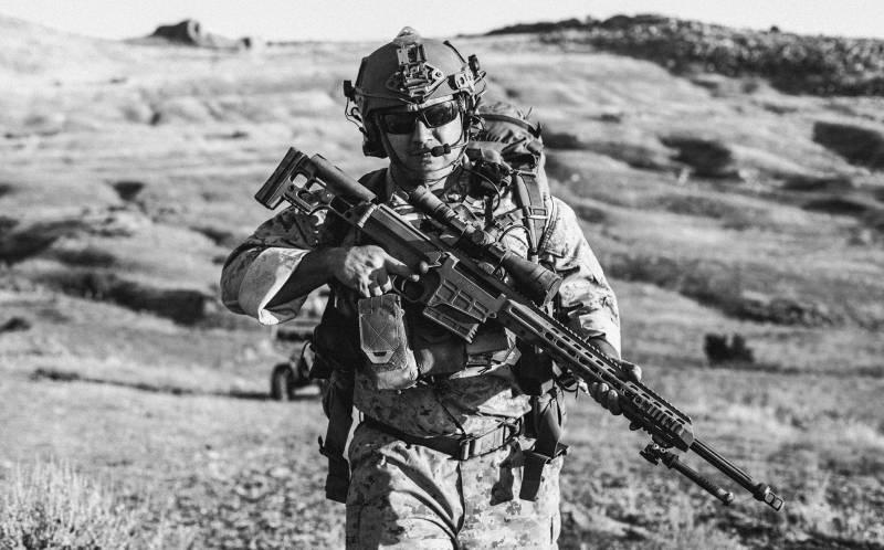 Американский спецназ выбрал снайперскую винтовку Mark 22 Barrett  оружие
