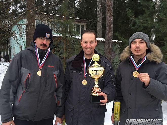 Чемпионат Московской области по ловле рыбы на зимнюю блесну 2018