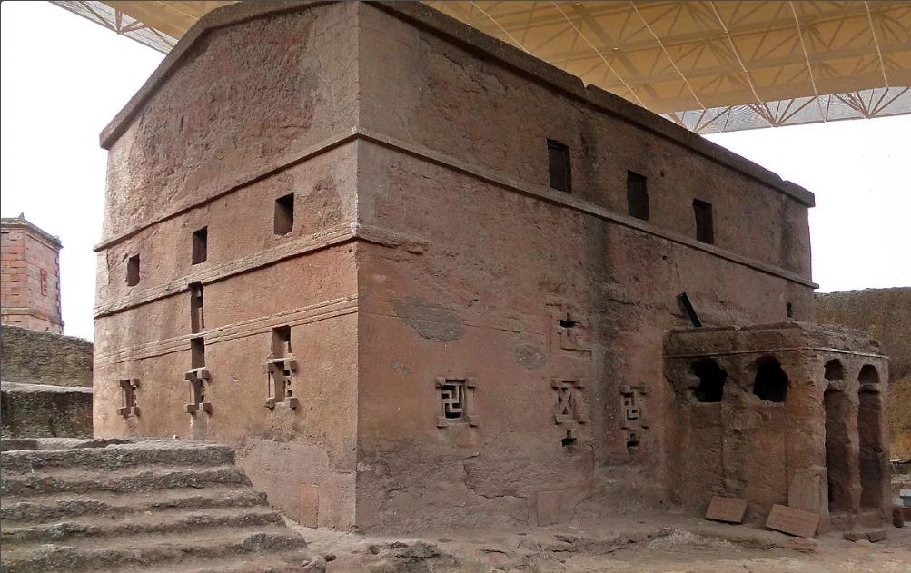 храм Марии в Лалибэле Эфиопия