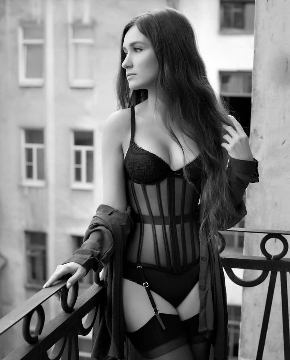 Beautiful girls in lingerie