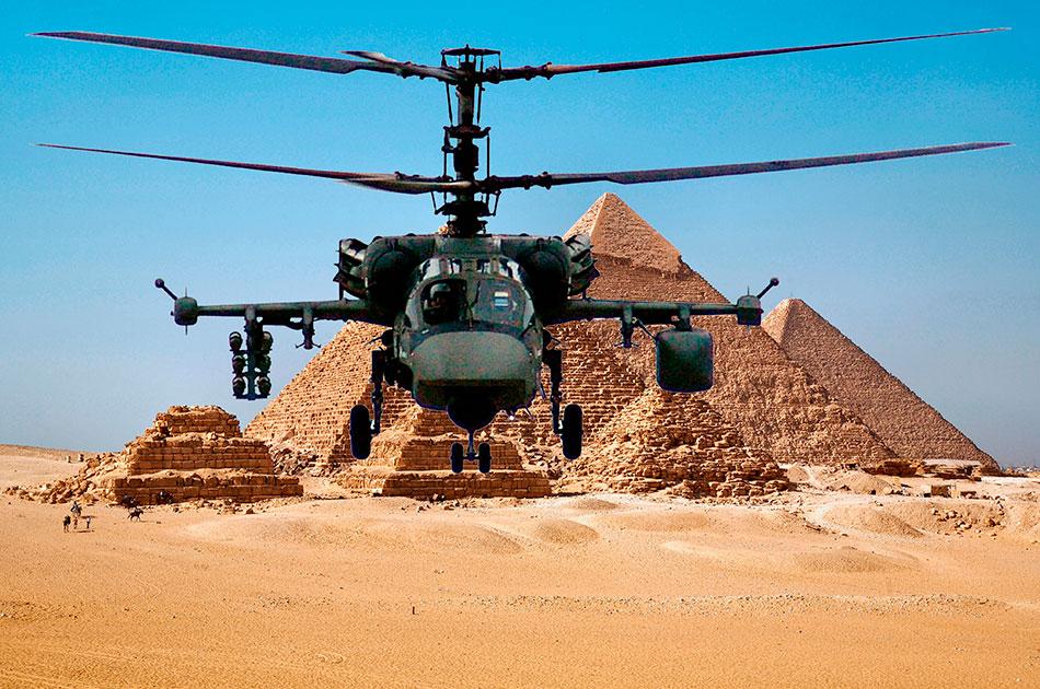 Фейк о российских вертолетах