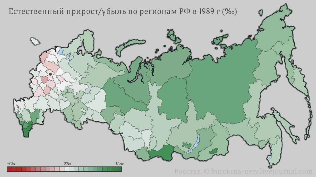 Как вымирало население России при капитализме