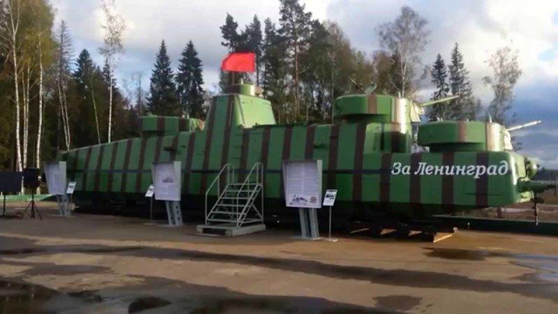 Дитя танка Т-28 и дрезины