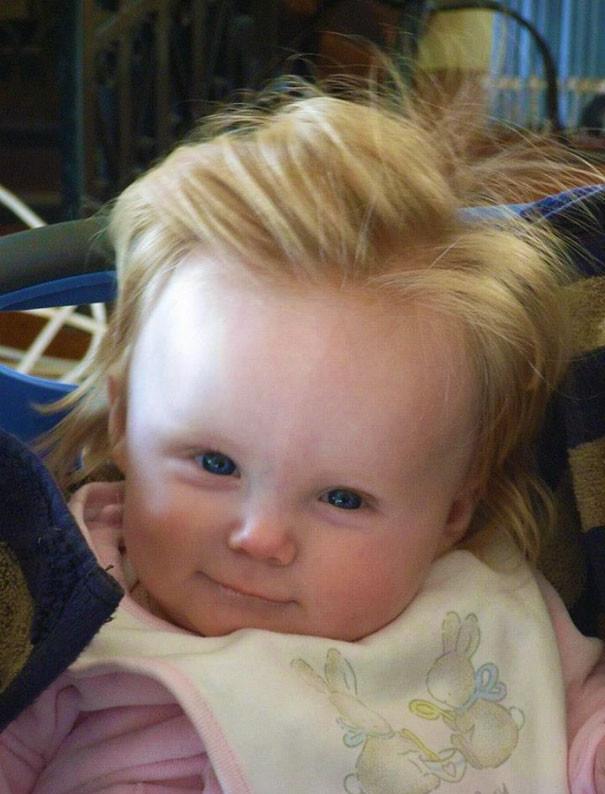 Маленький викинг волосатые, младенцы, смешные дети