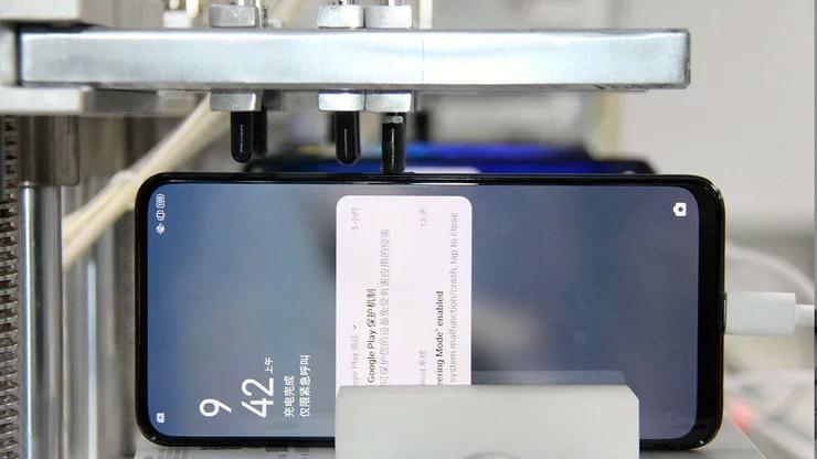 Тестирование надёжности кнопок