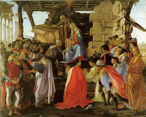 Поклонение волхвов, 1475