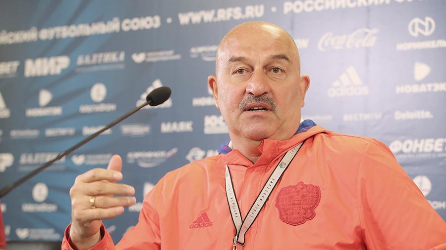Черчесов назвал игру сборной России «футболом XXI века»