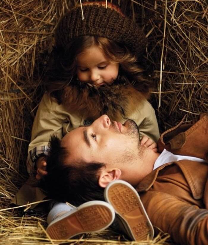 Картинки парень с дочкой