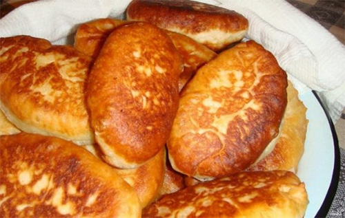 Старогородские ливерные пирожки во фритюре