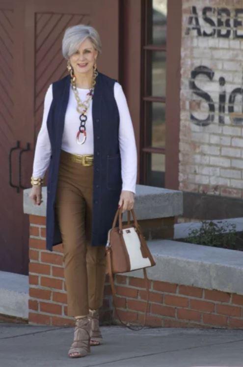 Бежевый цвет осени – стильные образы для женщин 40+ мода и красота,модные образы,модный цвет,одежда и аксессуары
