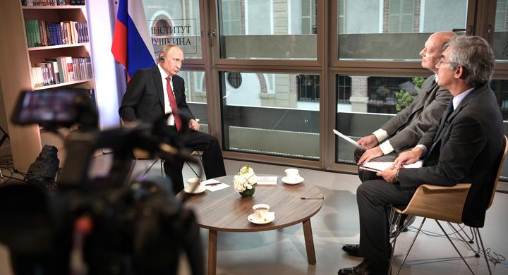 Путин приоткрывает реалии ми…