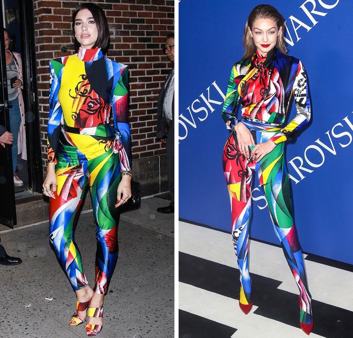 20пар знаменитостей, которые одеты одинаково, новыглядят абсолютно по-разному