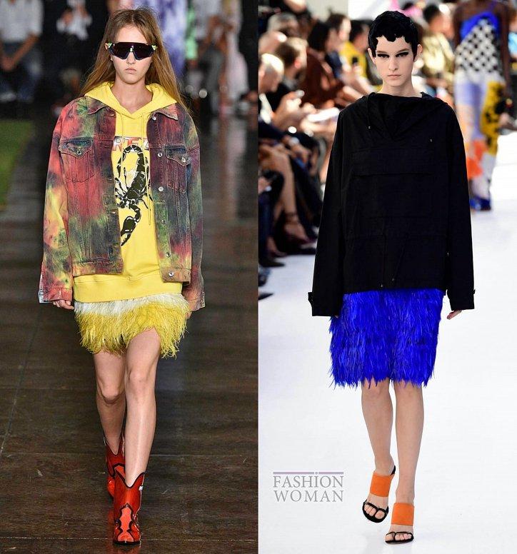 Модные юбки весна-лето 2019 фото №56