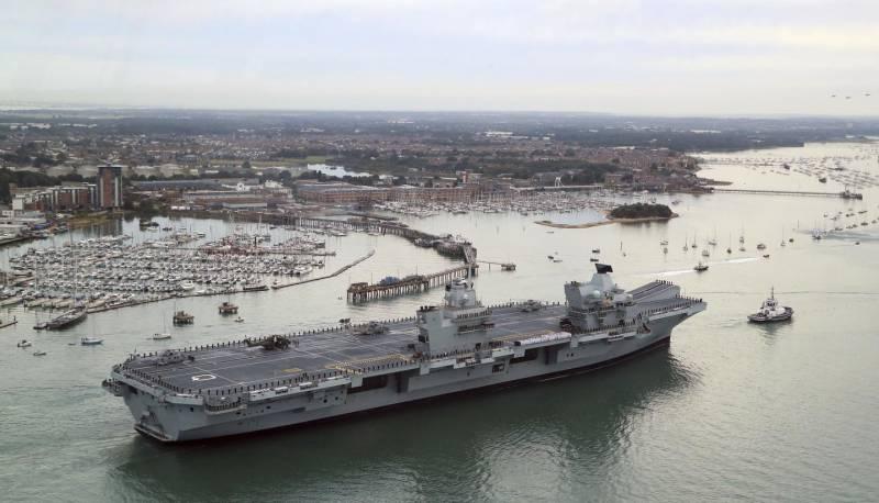 Авианосец Queen Elizabeth: крупнейший корабль в истории британского флота