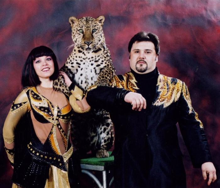 Юлия Филатова и Андрей Клыков. / Фото: www.circus.ru