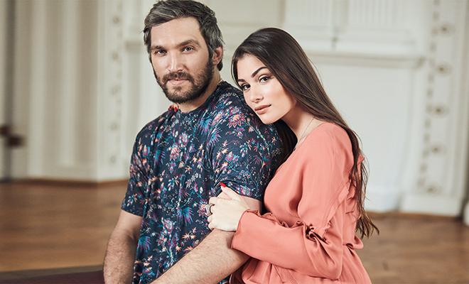 Александр Овечкин и Настасия Шубская показали младшего сына Дети,Дети знаменитостей