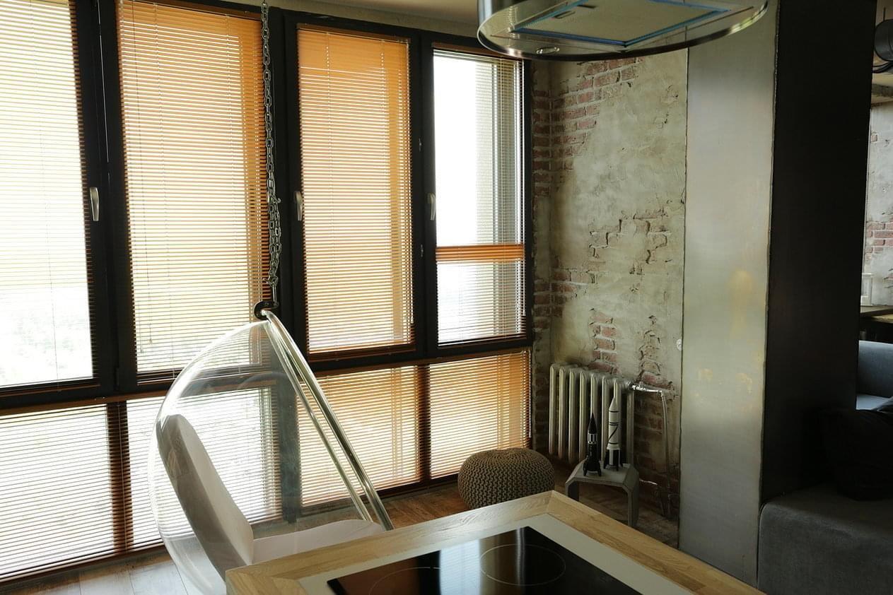 Интерьер лофт на 59 кв. метрах в Екатеринбурге