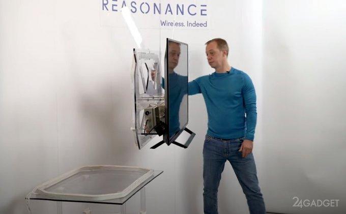 В России создан полностью беспроводной телевизор будущее,бытовая техника,видео,гаджеты,наука,Россия,ТВ,техника,технологии,электроника