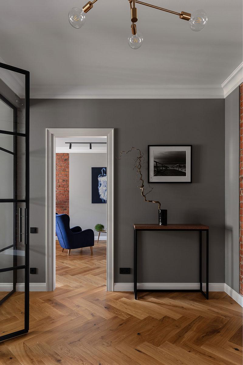 Светлая квартира с лёгкими современными интерьерами в старом доходном доме в Санкт-Петербурге Этаквартирав, котором, умелой, работе, дизайнеров, студии, теперь, лёгкий, интерьер, скандинавском, стиле, нашлось, видению, место, некоторым, оригинальным, историческим, деталям, таким, великолепные