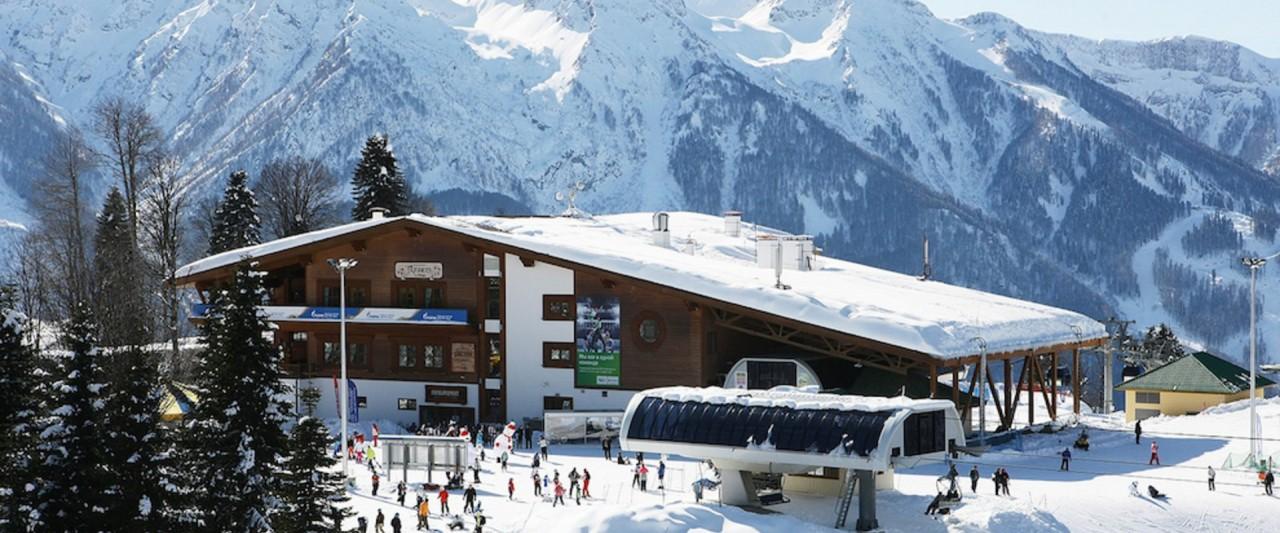 Самые популярные горнолыжные курорты России