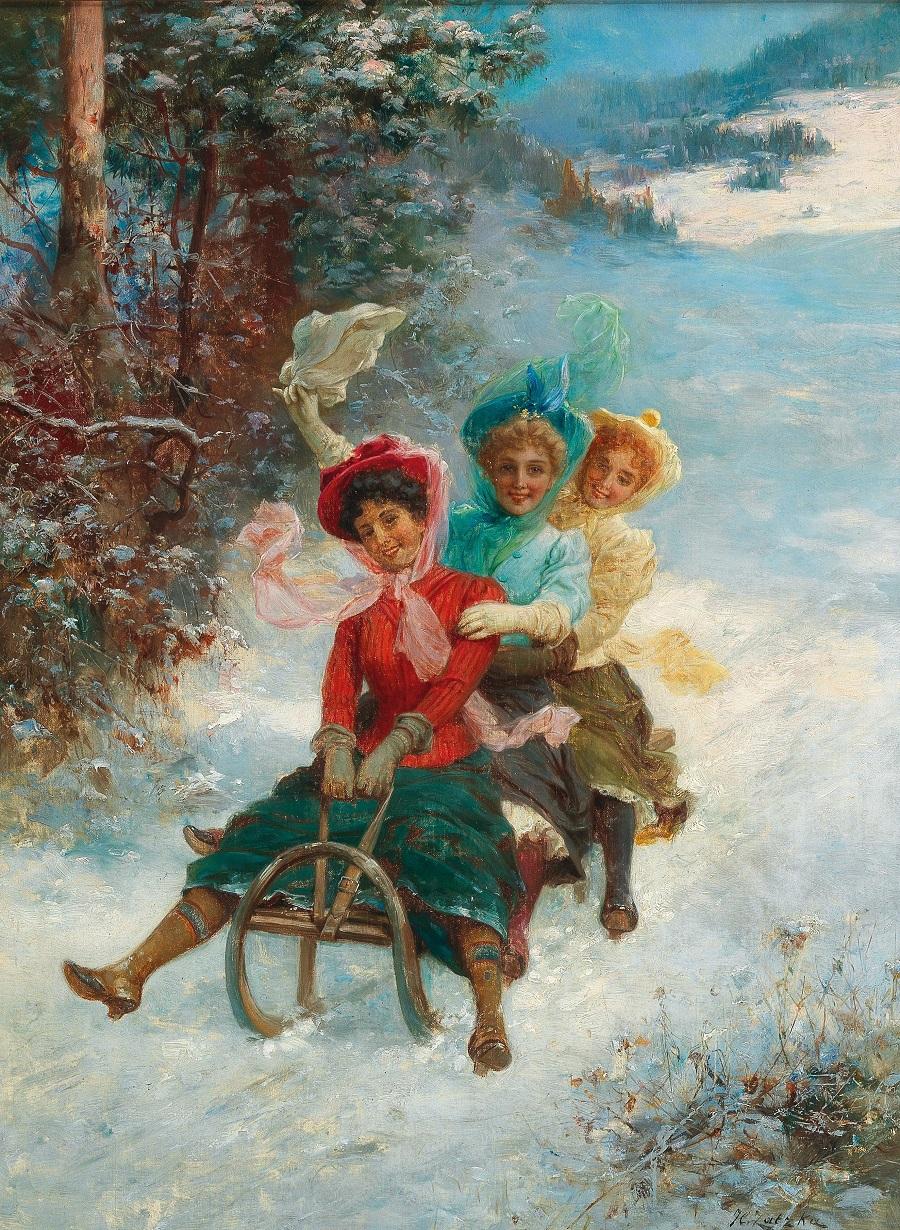 Ханс Зацка  и его потрясающее творчество в живописи