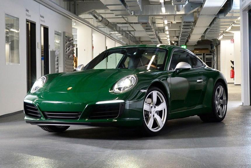 АВТОВАЗ поздравил Porsche... с юбилеем модели 911