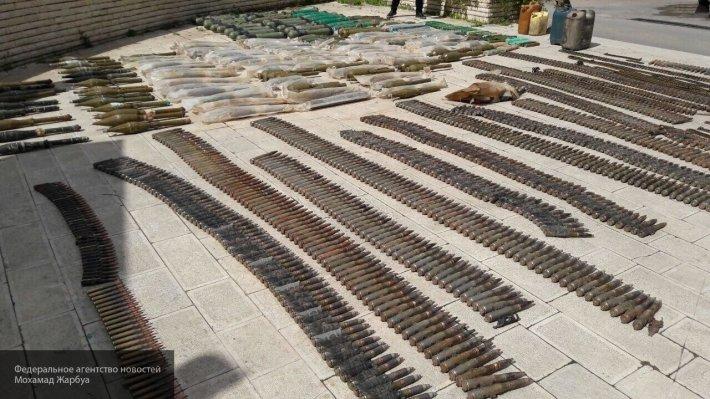 Крупные схроны у Голан: бойцы САА вскрыли американо-израильский арсенал
