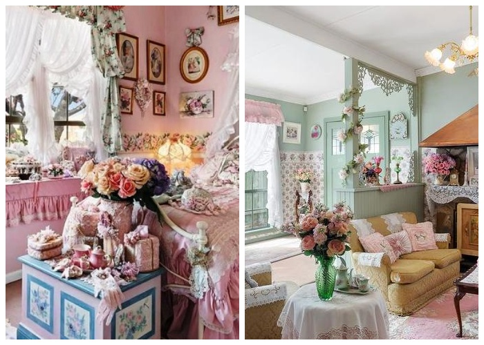 Безумство рюшей и бантиков: -Самый розовый особняк Мельбурна- выставлен на торги