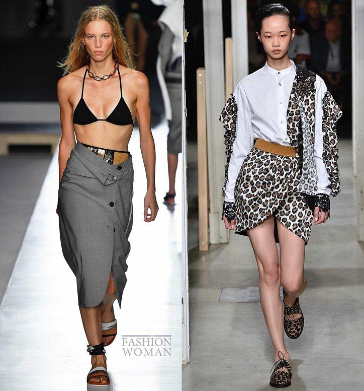 Модные юбки весна-лето 2019 фото №22