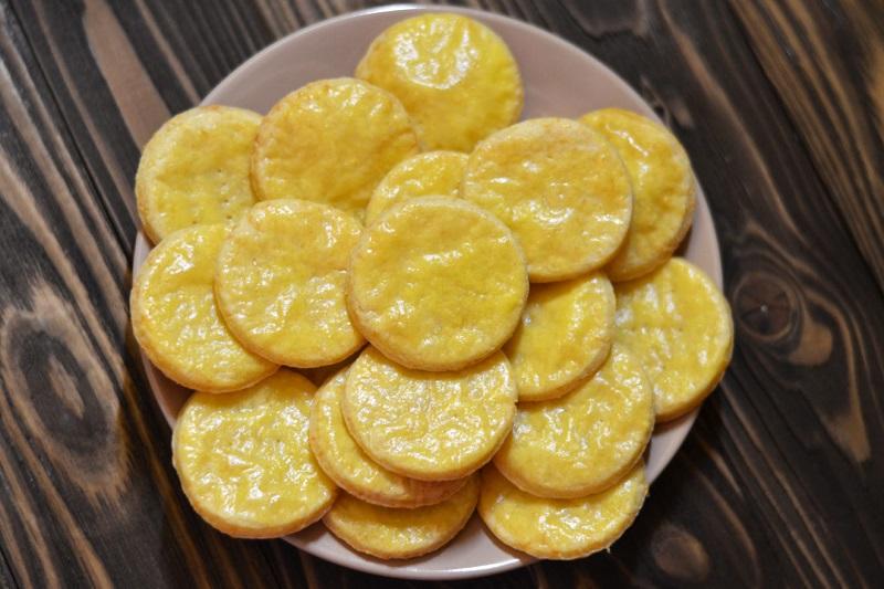 легкий рецепт сырного печенья