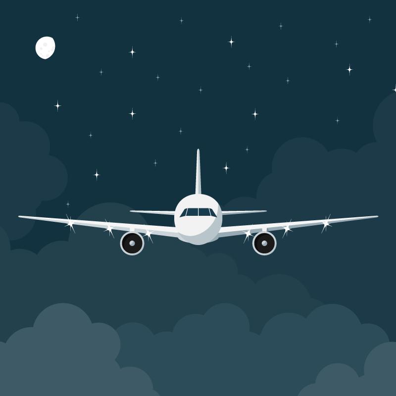 Анекдот про попытку «успокоить» пассажиров самолёта