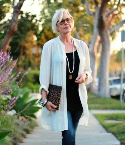 Мода для женщин за 50 — тенденции 2018 года