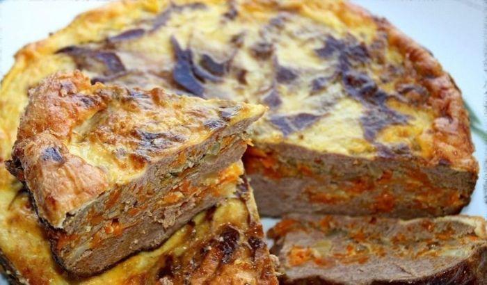 Очень нежное, сочное и вкусное блюдо из печени.