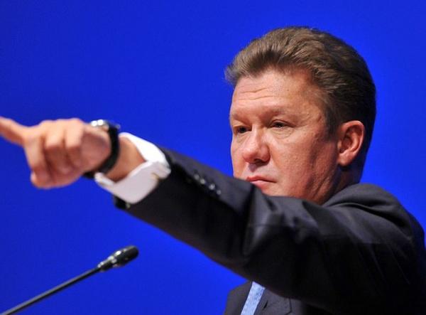 Миллер обаресте газа Украиной: Пусть попробуют