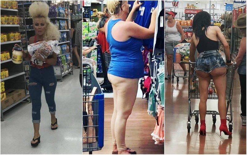 Эти люди просто пришли за покупками в американский супермаркет Walmart (32 фото)