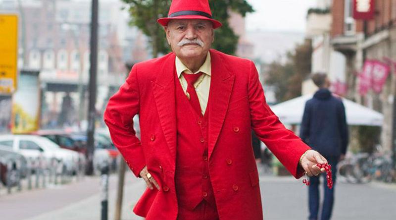 86-летний стиляга из Германии каждый день в новом образе