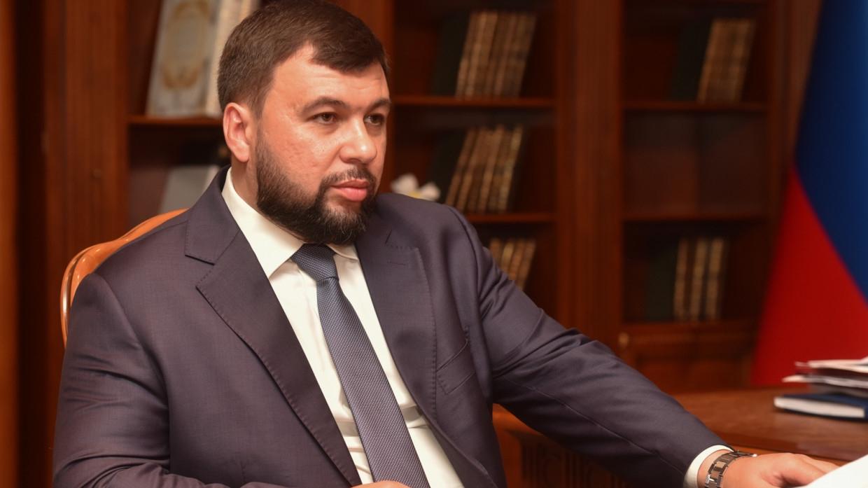 Пушилин назвал непреодолимыми противоречия между ДНР и Украиной Политика