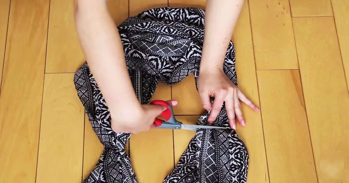 12 необычно полезных вещей, которые можно сделать из старой одежды