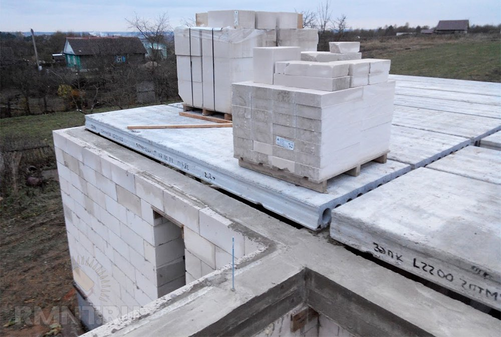 плиты перекрытия для двухэтажного дома