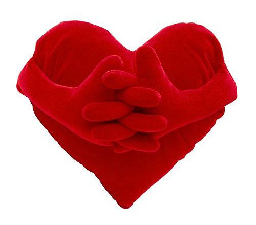 Как сшить подушку-сердце своими руками