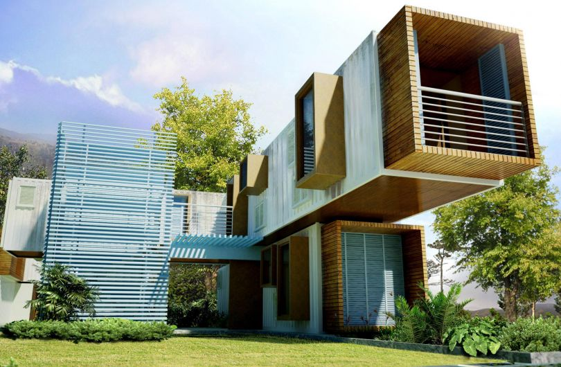 Можно ли построить недорогой дом из контейнеров?