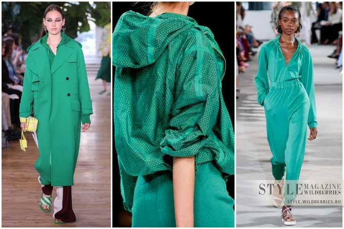 Модные цвета весны 2018: Аркадия