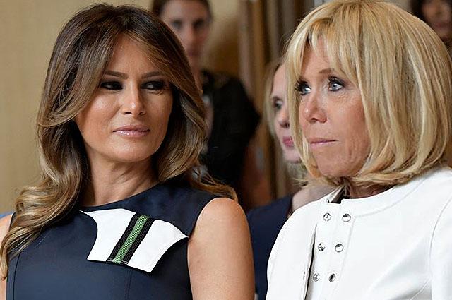 Саммит НАТО превратился в конкурс красоты первых леди. СМИ твердят, что  победила Меланья Трамп!