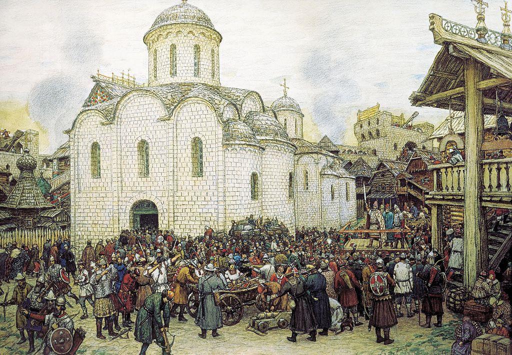 Что, если бы Тохтамыш не разорил Москву