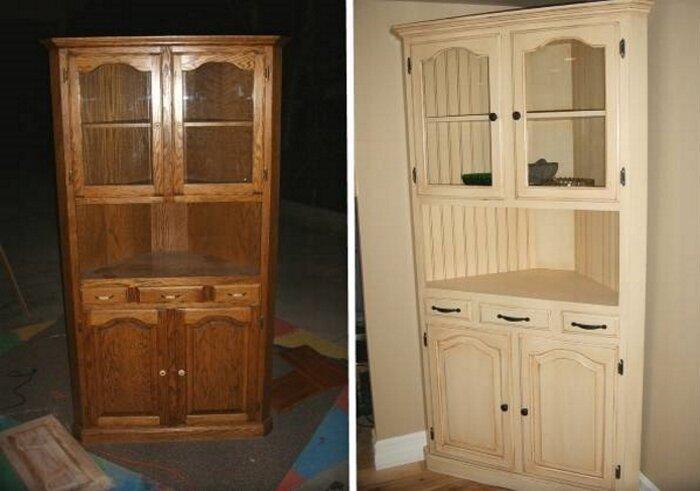 Такой шкаф прослужит еще не один год до и после, идея, мебель, ремонт, своими руками, фантазия