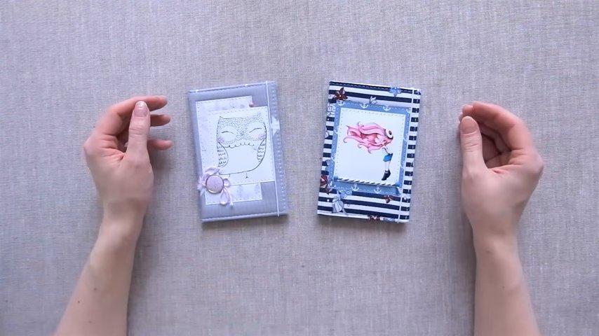 Мастер-класс для начинающих: как сделать красивую обложку для паспорта мастер-класс,обложка,паспорт